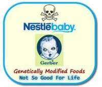 Nestle baby GMO