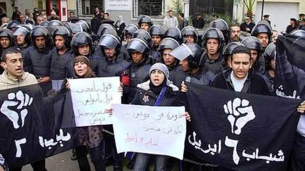 Activistas egipcios OTPOR