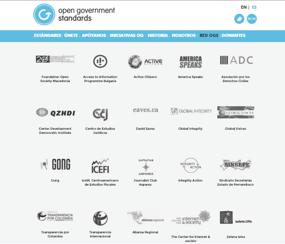 Open Government Standards coop