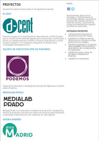 Proyectos Podemos