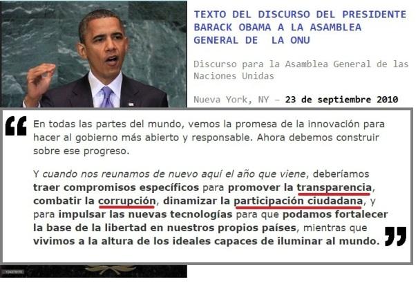texto Obama ONU