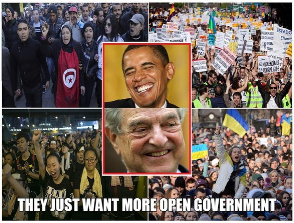 They want Open Government